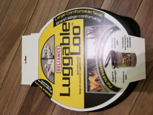 Lugable Loo toilet seat and cover NEW