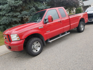2007 F250 DIESEL EXTENDED CAB..