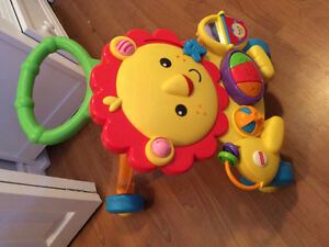 Fisher price musical lion activity lion