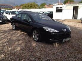 2007 07 PEUGEOT 407 2.7 COUPE GT HDI 2D AUTO 202 BHP DIESEL
