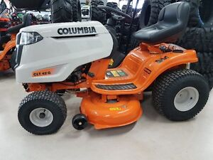 Large selection of Columbia yard equipment