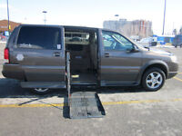 "WHEELCHAIR VAN PONTIAC MONTANA ""MINT"" 19,500 KM'S"