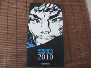 Agenda de poche Hugo Pratt 2010