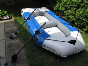 Sevylor Inflatable Boat and Air Pump