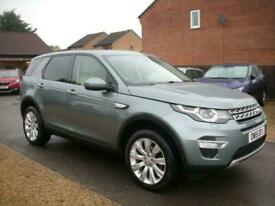 2015 15 LAND ROVER DISCOVERY SPORT 2.2 SD4 HSE LUXURY 5D 190 BHP DIESEL