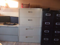 FILING CABINETS $40   COMPUTER CHAIRS $9.50