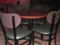 Tables, Chairs & Bar Stools
