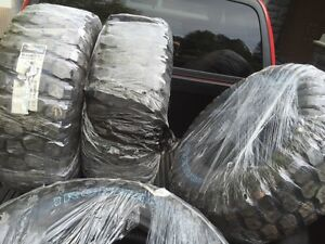 Brand new pickup truck tires