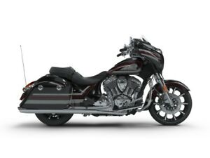 2018 Indian Motorcycle Chieftain Limited ABS Thunder Black Pearl