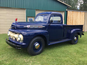 Fully Restored M-3 Mercury Truck 1952    239 V-8 Flat Head