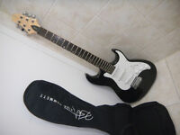 Samick electric guitar Greg Bennett Signature Series with Case