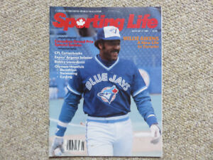Sporting Life Magazine #3 - June/July 1984 - Willie Aikens Cover