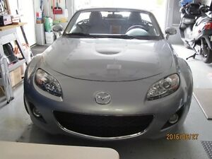2009 Mazda MX-5 Miata GRAY Convertible