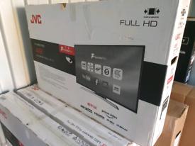 TV 49INCH NEW UNUSED SMART WIFI JVC WITH WARRANTY EVERYTHING