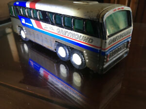 Buddy L, Greyhound Bus USA , 7""