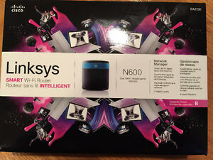 LINKSYS LKSEA2700NP, Dual-Band N600 Router with Gigabit
