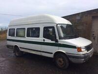 LDV Convoy, camper, 6 seater van/minibus