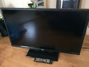 """RCA 32"""" LED TV with DVD player and 3 HDMI inputs"""