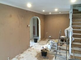 For all your plastering needs call L C M Home Improvements