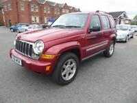 2006 Jeep Cherokee 2.8 TD Limited Station Wagon 4x4 5dr