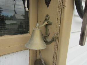 ANCHOR BELL  ''BRASS''