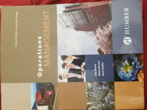 Operations Management textbook Humber