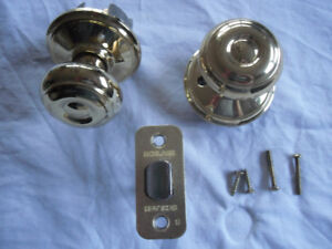 complete Schlage door handle set