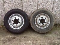 LDV/Transit wheel rims and tyres