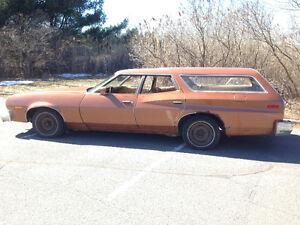 Ford torino station wagon 1976 1300$ ou echange contre auto