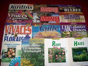 13 livres sur le jardinage