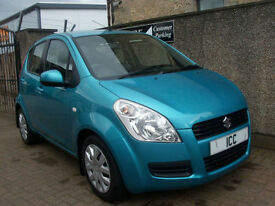09 59 REG SUZUKI SPLASH GLS 1.0 5DR LAGOON BLUE £30 FOR 1 YEARS TAX AIRCON