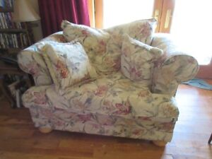 Sofa, chair & 1/2 and recliner