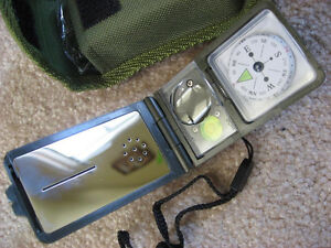 Military Lensatic Lens Compass, 10 in 1