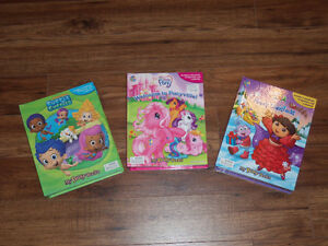 STORYBOOKS WITH FIGURINES  *$6 for all*