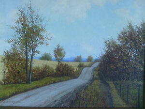 Original Oil on Canvas - Horvath North Shore Greater Vancouver Area image 2