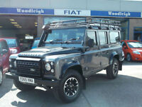 65 LAND ROVER DEFENDER 4X4 2.2I DIESEL 110 ADVENTURE EDITION TOW PACK 7SEATS 5DR