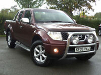 Nissan Navara 2.5dCi Pickup King Cab SE Side Steps Alloys Front Guard