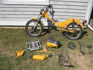 Parting out Honda CT90
