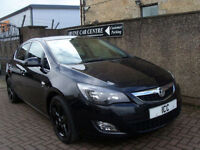 12 12 VAUXHALL ASTRA 1.6 VVT 16V SRI SPORT 5DR BLACK ALLOYS CRUISE SPORTS SEATS