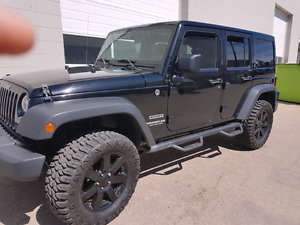 2012 Jeep Wrangler Unlimited Sport 98.000 km 4 door - Automatic