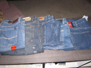 Blue Jeans,Buffalo 34/30..CK,34/32,36/32; Tommy 36/30,40/32,NEW