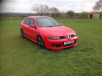 Seat Leon cupra r not fr forged and fast swap