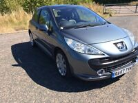 Peugeot 207 HDI diesel GT 110 only 62000 miles FSH