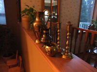 brass items; 5 in total