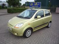 CHEVROLET MATIZ SE A-C..** £15 Per Week..£O Deposit ** VERY LOW INSURANCE ** 2