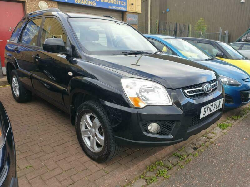 2010 Kia Sportage 2 0 Crdi 4wd Xe Awd 1 Owner From New Tow
