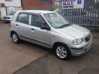 Suzuki Alto 1.1 GL 5 DOOR £30 PER YEAR ROAD TAX F.S.H