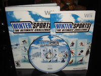 NINTENDO WII-WINTER SPORTS-THE ULTIMATE CHALLENGE