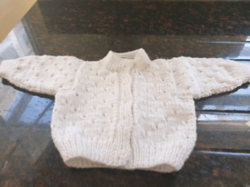 Baby jackets/cardigans - hand knitted to order