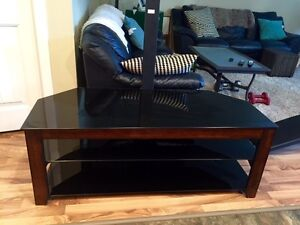 Entertainment stand with tv holder